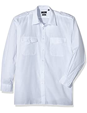 Premier Workwear Long Sleeved Pilot Shirt, Camicia Uomo