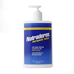 Nutraderm Advanced Formula Therapeutic Lotion, 16 fl oz by Nutraderm (English Manual)