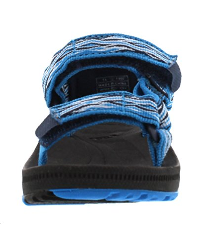 Teva Hurricane 2 T's Unisex-Kinder Sport & Outdoor Sandalen Blau (Mad Waves Blue 889)