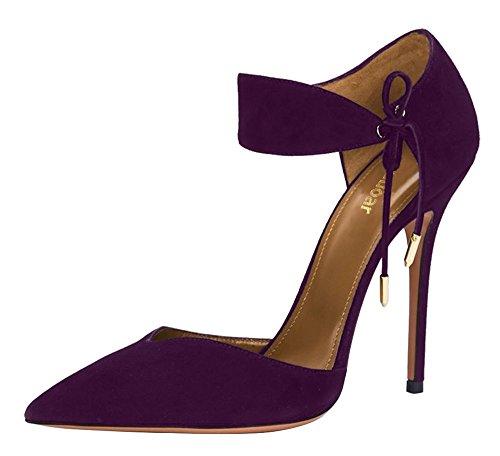 Guoar , Coupe fermées femme Violet - Violet