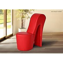 Designerstuhl in High Heel Form.