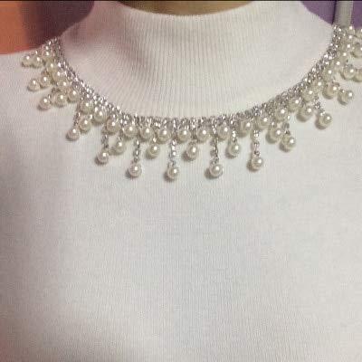Astonish ASTONISCHE Versand! Perlenkette mit Strasssteinen und