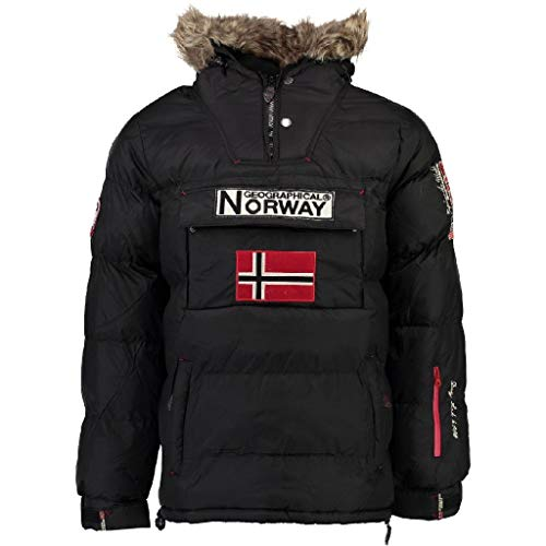 Geographical Norway Parka Hombre BOKER Negro XXXL