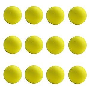 First-Play - Pelotas de Espuma estándar, Color Amarillo, 7 cm