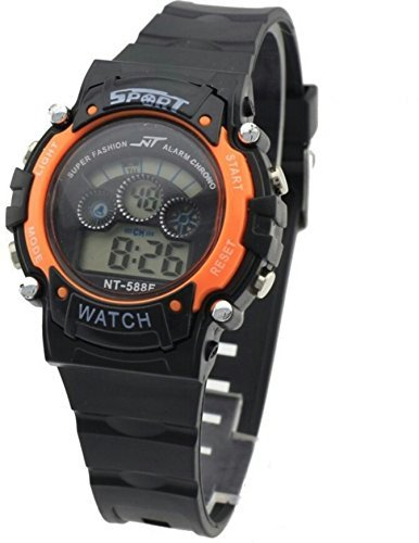 Reiz Sports Watch Collections Digital Dial Watch for Kids (Orange)
