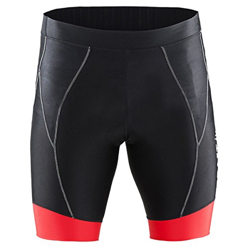 Craft Herren Shorts Active Bike Pants Black/Bright Red