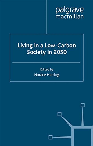 Living in a Low-Carbon Society in 2050