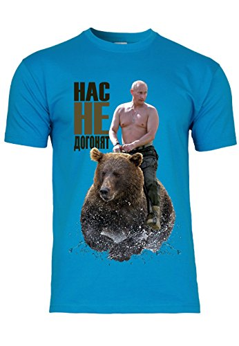 METRA -  T-shirt - Maniche corte  - Uomo Azzurro XX-Large