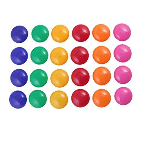 Factory Preis islandoffer 48PCS Präsentation Whiteboard Farben Runde Magnetischer Knopf