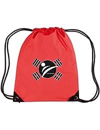 T-Shirtshock - Mochila Budget Gymsac TAM0176 taekwondo tshirt