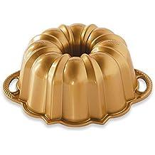 Nordic Ware 51277 Anniversary - Juego de 6 vasos, aluminio, color dorado