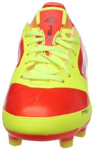 adidas F30 Trx Fg J, Chaussure de football garçon Orange (For ne/blanc/ lectri)