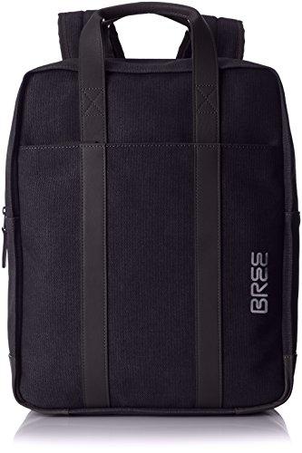BREE Unisex-Erwachsene Punch Casual 716, Anthra/bla, Backpack Rucksack, Grau, 11x40x31 cm