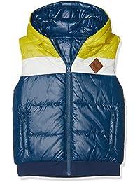 boboli Technical Fabric Reversible Vest For Boy, Abrigo para Niños