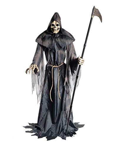 Horror-Shop Greifender Sensenmann Halloween Deko Figur