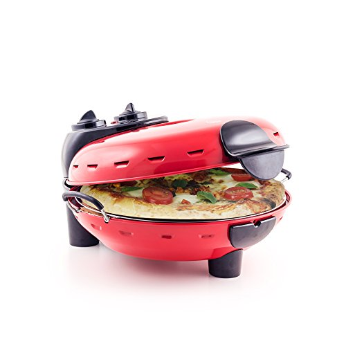 Pizza Maker - Authentic Italian Stonebake Pizza Oven with Viewing Window - Perfect for ...