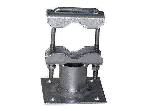A.S.Sat 46303 Rohrschelle für Ausleger mit 2 Zahnschellen verzinkt