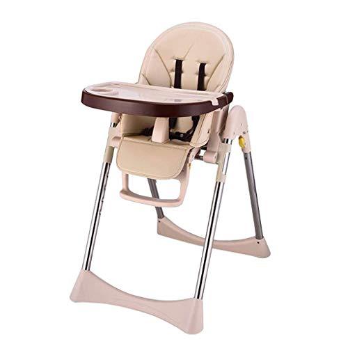 Chaise de Salle à Manger Pliante pour bébé, Hauteur réglable, Chaise Haute pour bébé, Multifonction, Coin-Repas pour Enfants, adaptée aux Enfants de 0 à 4 Ans