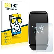 BROTECT AirGlass Protector Pantalla Cristal Flexible Transparente para MyKronoz ZeWatch 3 Protector Cristal Vidrio - Extra-Duro, Ultra-Ligero, Ultra-Claro
