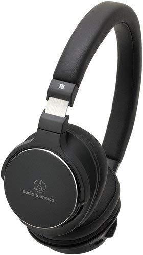 Audio-Technica ATH-SR5BTBK Kabelloser, Ohraufliegender High-Resolution Kopfhörer schwarz thumbnail
