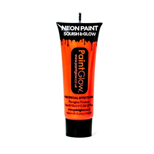 Body-paint-neon (Smiffy's 45989 - UV Face und Body Paint, 10 ml)