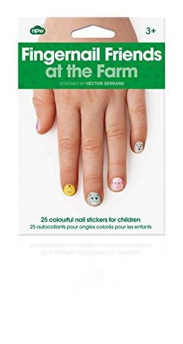 Fingernagel Freunde auf dem Bauernhof - Nagel Aufkleber Stickers für Kinder - Farm