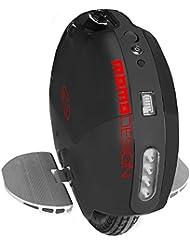 Monociclo monoruota eléctrico 350W 18km/h MOMODESIGN Paris 14negro/rojo