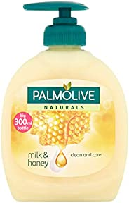 Palmolive Liquid Hand Soap Pump Milk & Honey Wash - 300Ml 1