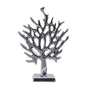Deko-Figur Baum aus Zinn | Handarbeit | Schmetterlings Baum Deko Figur | Natur Figur Dekoration