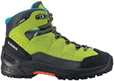 Lowa Approach GTX Mid - Botas de montaña para niño, color lima, talla 36
