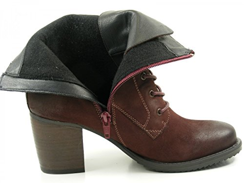 SPM 20077170 Bullet Lace Boot Stivali donna Rot