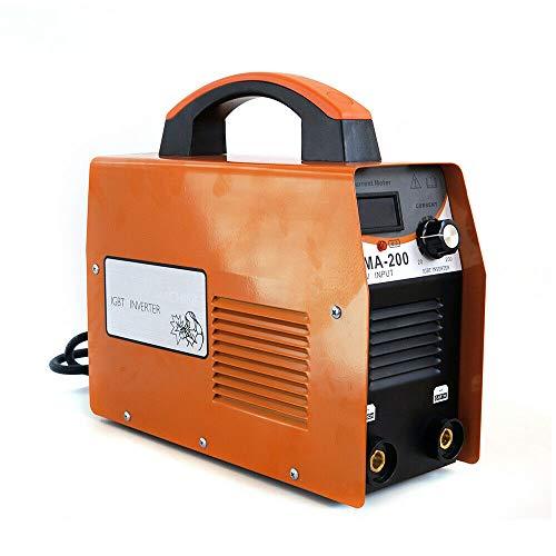 Fülldraht Schweißgerät Elektrodenschweißgerät Elektroden MMA Inverter 10-120A DE/MMA-200A Inverter E-Hand Schweißgerät Elektrodenschweißgerät IGBT Elektroden DHL