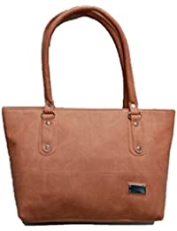 Linker Bags Form Brown Hand Bags (LB-43)