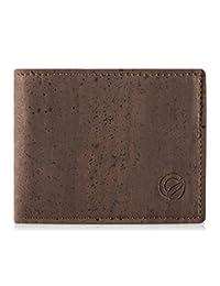 34c36843da Corkor Portafoglio Uomo di Sughero Porta Documenti Protezione Carte da  Credito Vegan