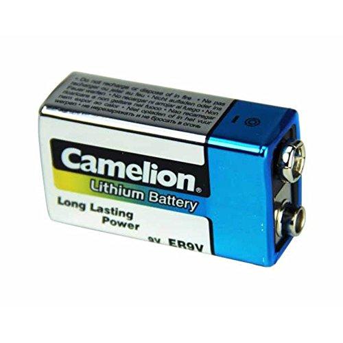 Preisvergleich Produktbild KH-Security Camelion 9V Block Lithium Batterie