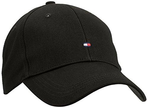 Tommy Hilfiger Herren Classic BB Baseball Cap, Schwarz (Flag Black 083), One Size (Herstellergröße: OS) - Baseball-caps Männer Für