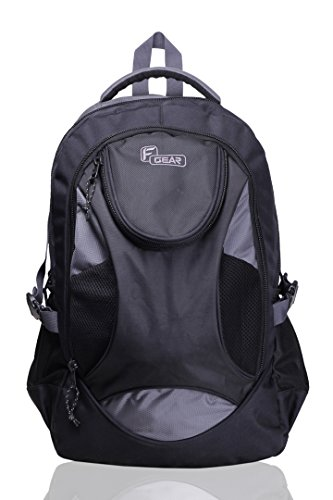 F Gear Sniper Lite V2 Polyester 33 Ltrs Grey Laptop Backpack (2177)