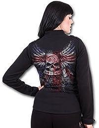Spiral Sweatshirt (No Hood) Women's - Union Crest E013G403 S