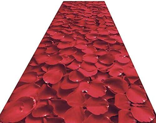 HAIPENG-Tappeto corridoio Passatoia Cucina Corridore Stampa 3D Corridore Cucina Non Skid Tappeti Ingresso per Cucina Ingresso Lavabile (Coloreee   A, Dimensioni   0.8x4m) 8c21a1