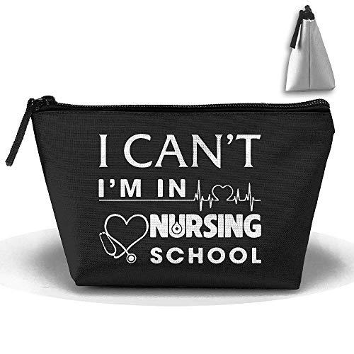 Ich kann Nicht ich Bin in der Krankenpflegeschule Krankenschwester Stift Briefpapier Federmäppchen Kosmetik Make-up Tasche