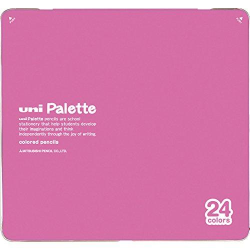 880 24-Farben-Satz rosa K88024CPLT.13 Uni Mitsubishi Bleistift Bleistift-Palette (Japan Import / Das...