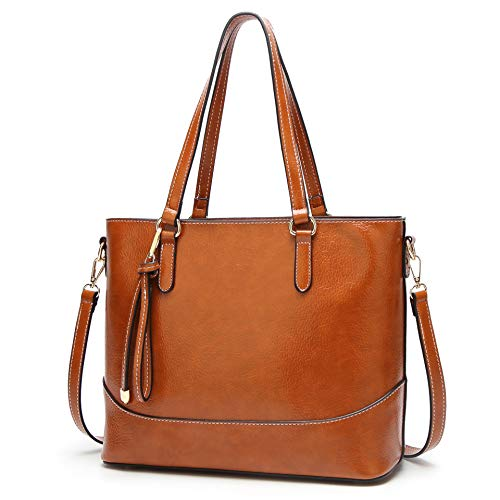 MIFAN Handbags For Ladies Tote Bag Shoulder Bag Leather Fashion Handbags  for Women 9c708220d39ac