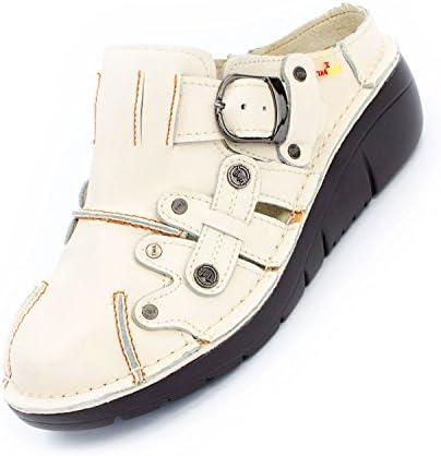TMA Shoes 8890 - Zapatos de Tacón de Piel Lisa Mujer