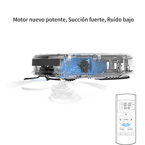 ILIFE V5s Pro Robot Aspiradora con tanque de agua  Robot de limpieza para suelos barrer y fregar automáticamente