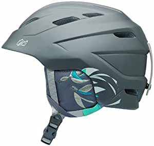 Giro Decade Women's Helmet, Unisex, Helm Decade, Matte Titanium birds