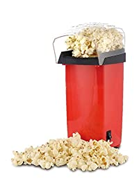 Inovera Hot Air Popcorn Popping & Snack Maker, Red