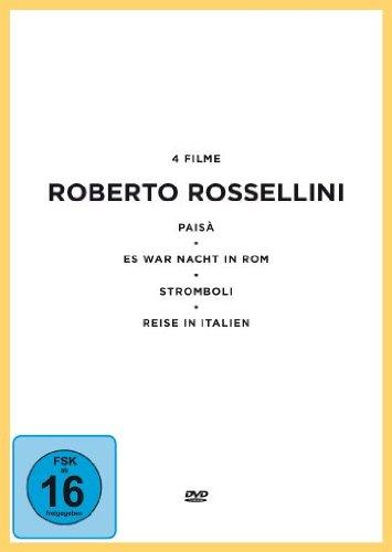 Preisvergleich Produktbild Roberto Rossellini Edition [4 DVDs]