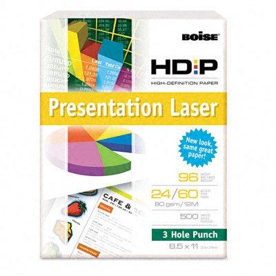 HD:P Presentation Laser Paper, 96 Brightness, 24lb, 11 x 17, White, 500/Ream