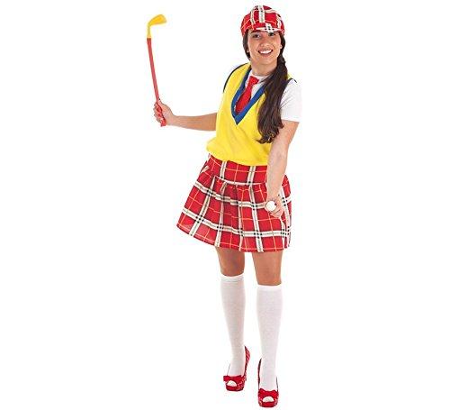 Kostüm Golf Spieler - Zzcostumes Weibliches Golf-Spieler-Kostüm