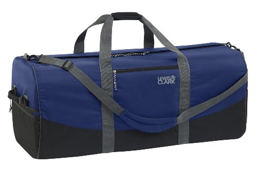 lewis-n-clark-uncharted-900d-zipper-duffel-bag-navy-12x24-inch